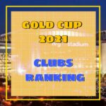 Player representation by clubs – CONCACAF Gold Cup 2021 Statistic